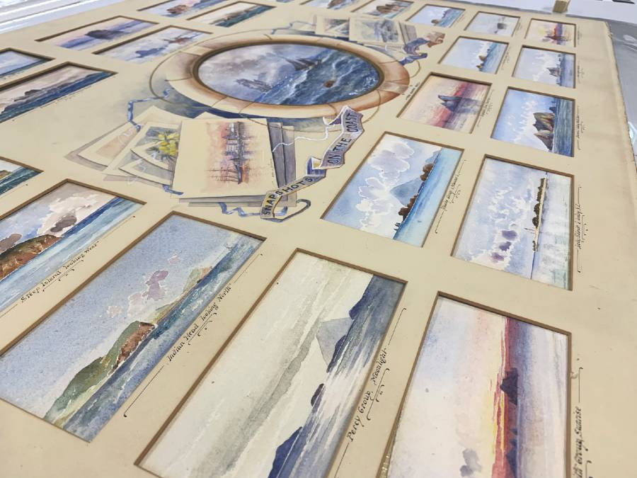Looking closer at the Frederick Elliot watercolours
