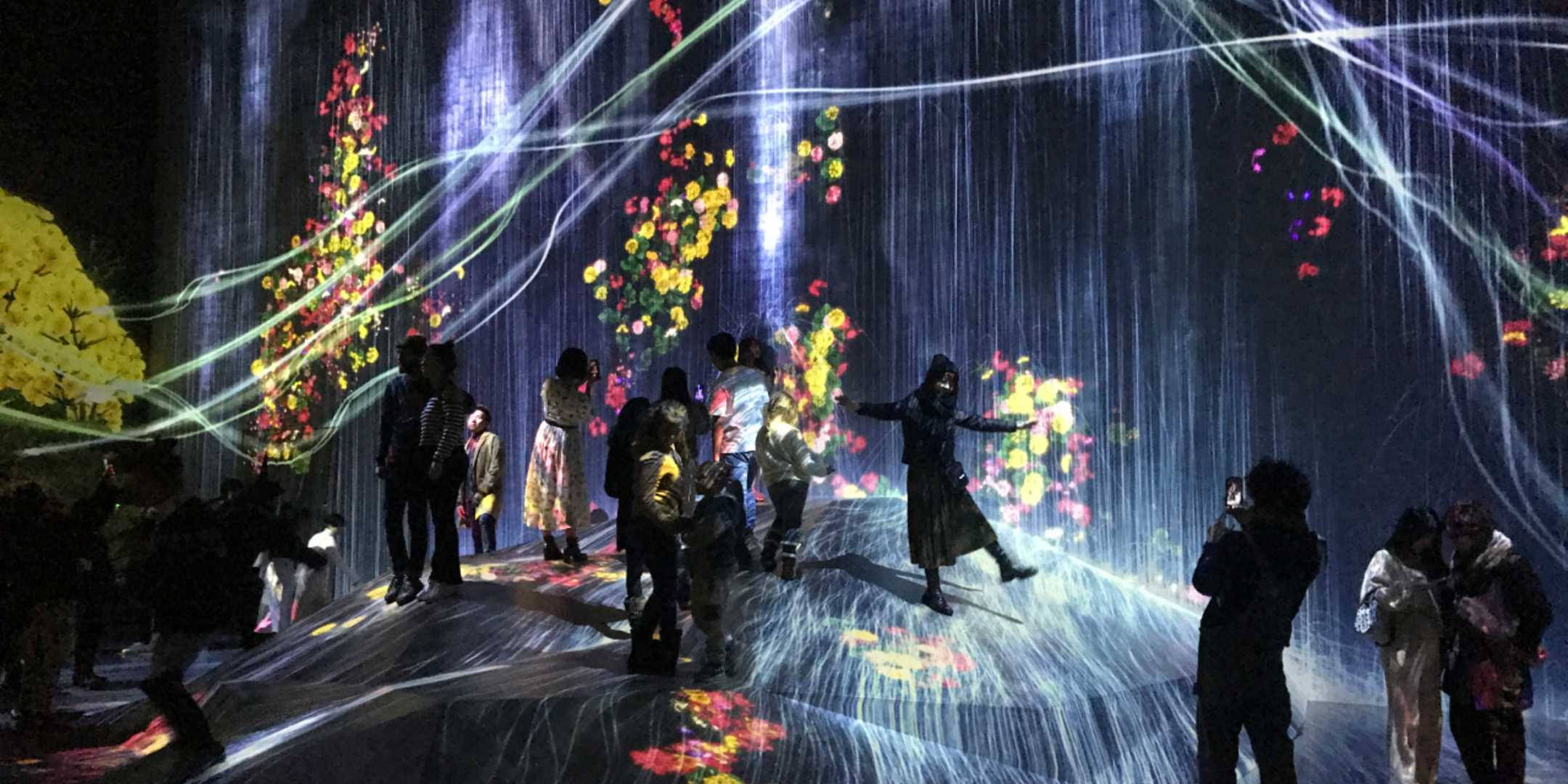 Transcending Boundaries (by teamLab)