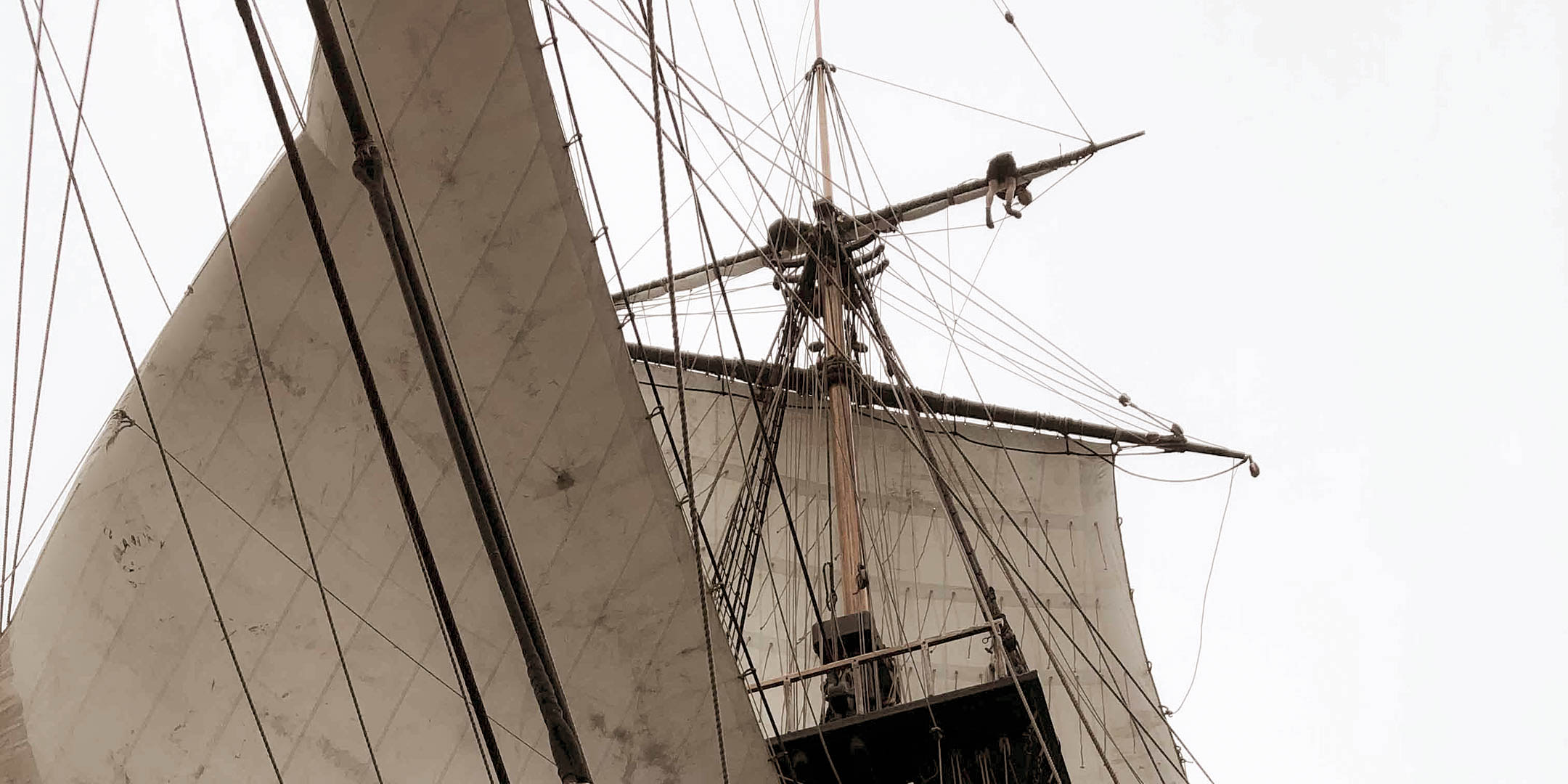 A regular blog from the Endeavour crew was they sail.
