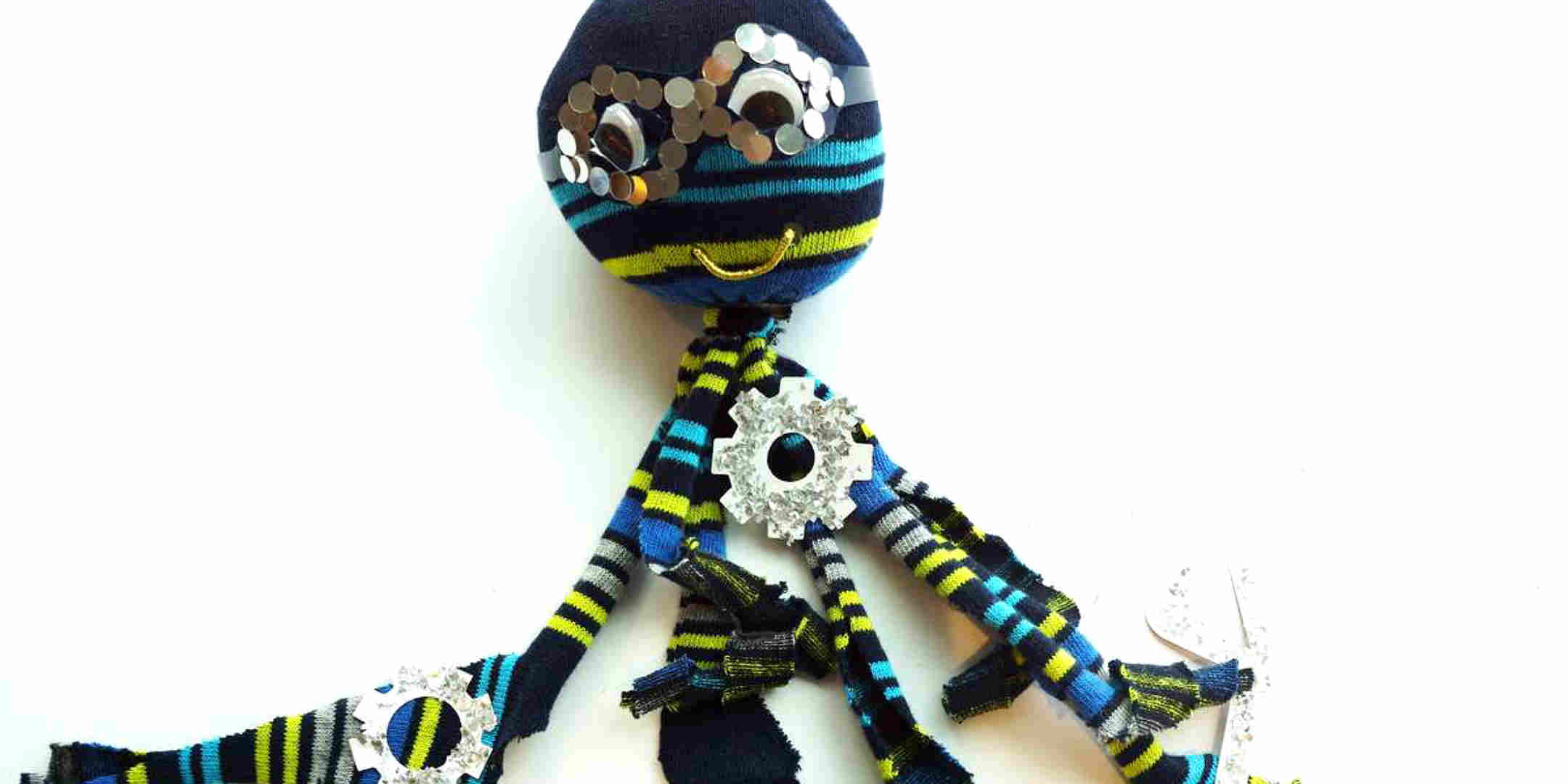 How to make a no-sew Steampunk Soctopus Softie