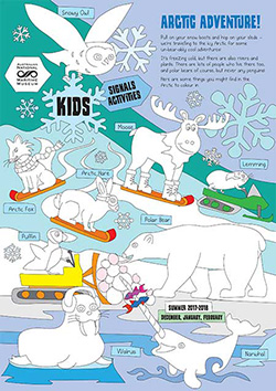 Kids Activity Sheet Arctic Adventure