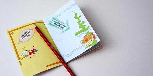 How to make your own sketchbook