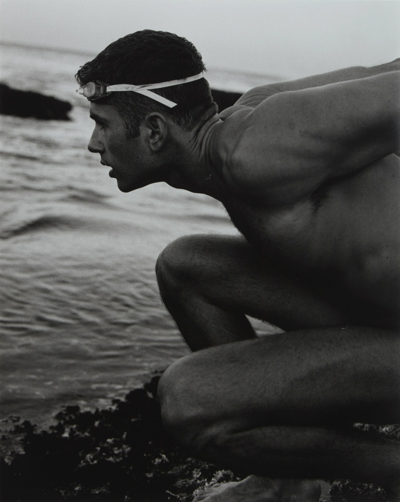 Scott Cardamatis: swimmer, 2002. ANMM Collection NC701215, © Paul Freeman. Reproduced courtesy of Paul Freeman.