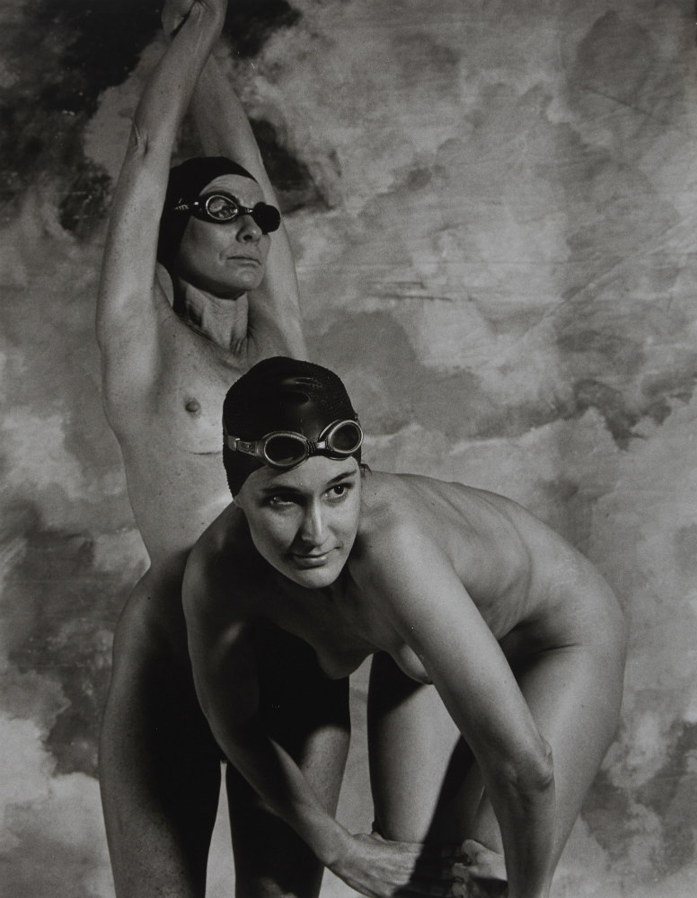 Cecily Black & Tracey Clay: swimmers, 2002. ANMM Collection NC701219, © Paul Freeman. Reproduced courtesy of Paul Freeman.