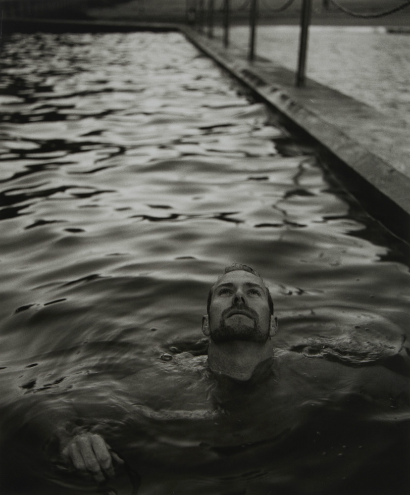 Scott Gustetter: swimmer, 2002. ANMM Collection NC701222, © Paul Freeman. Reproduced courtesy of Paul Freeman.