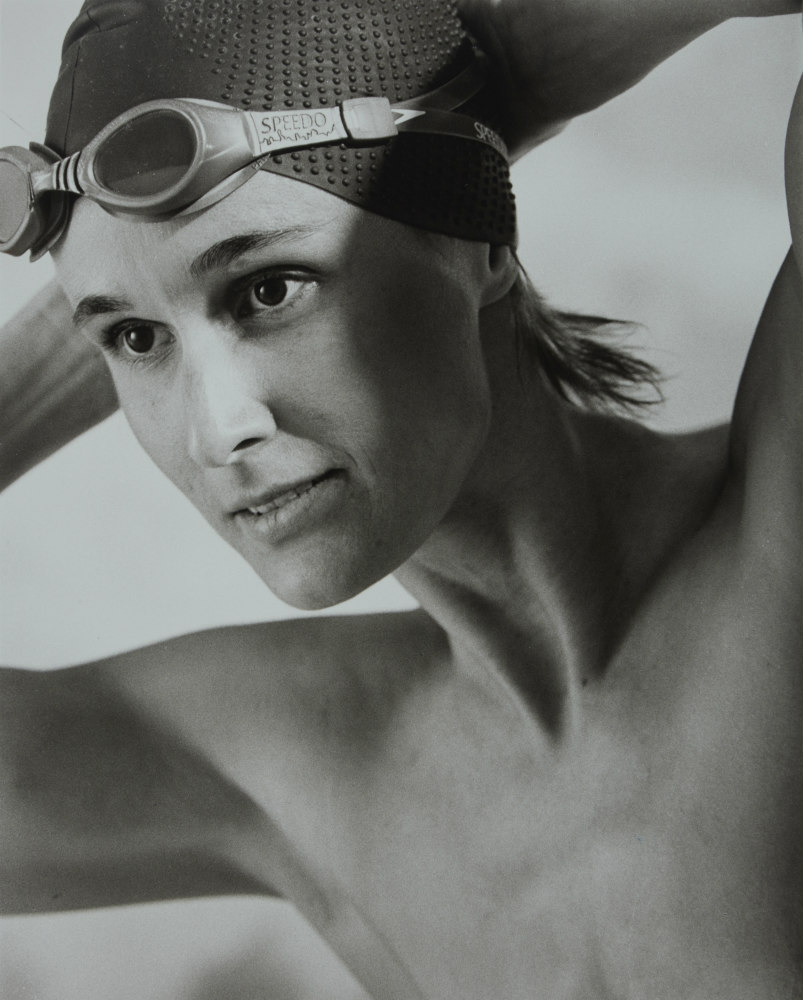 Cecily Black: swimmer, 2002. ANMM Collection NC701230, © Paul Freeman. Reproduced courtesy of Paul Freeman.