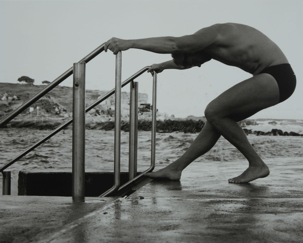 Scott Gustetter: swimmer, 2002. ANMM Collection NC701231, © Paul Freeman. Reproduced courtesy of Paul Freeman.