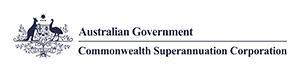Australian Government Commonwealth Superannuation Corporation logo