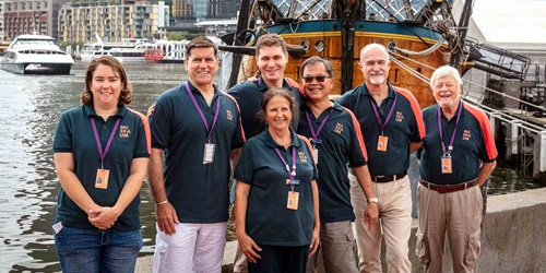 Australian National Maritime Museum volunteers