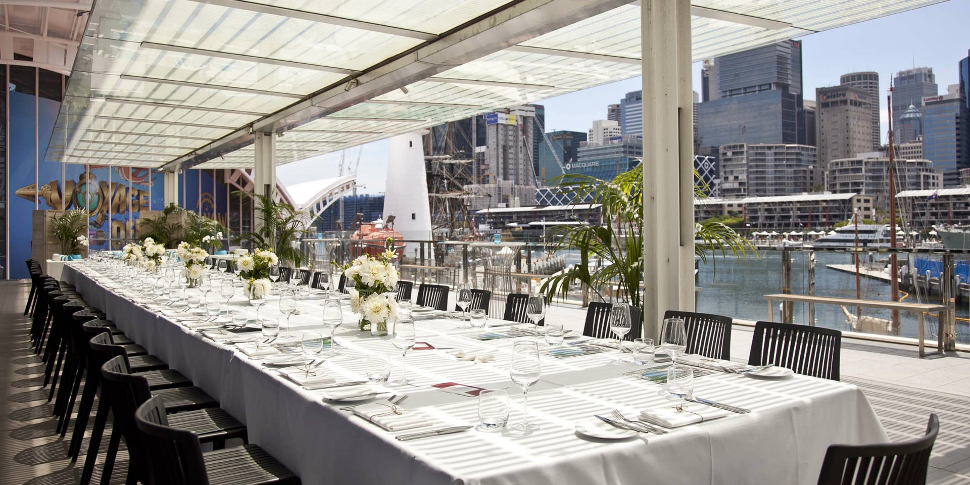 Ben Lexcen Terrace, perfect for your next banquet with a stunning view