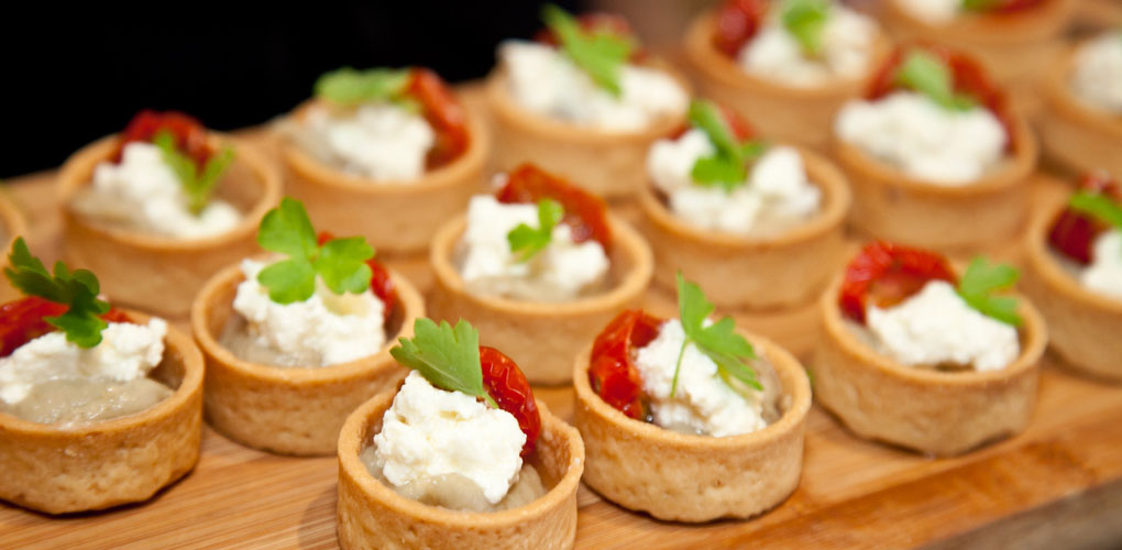 Christmas party at the museum - canapes