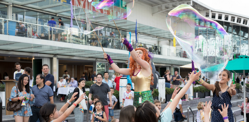 Family Fun: New Year's Eve celebrations at the Australian National Maritime Museum, Darling Harbour, Sydney 2017