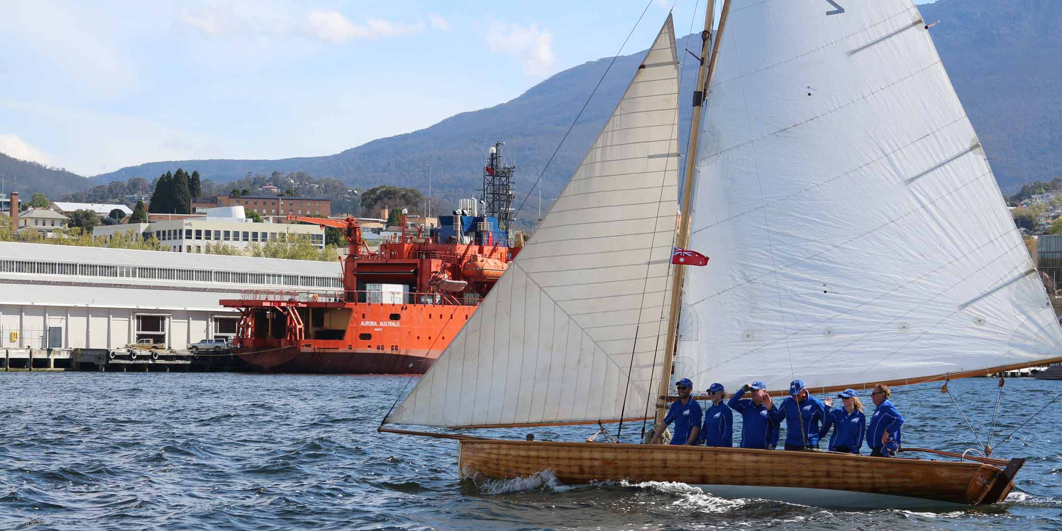 Restricted 21-Foot Class Racing Yacht, Tasmania