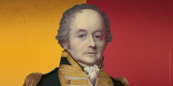 Bligh - Hero or Villain? Manipulated Portrait of Rea-Admiral William Bligh. Courtesy of National Library of Australia.