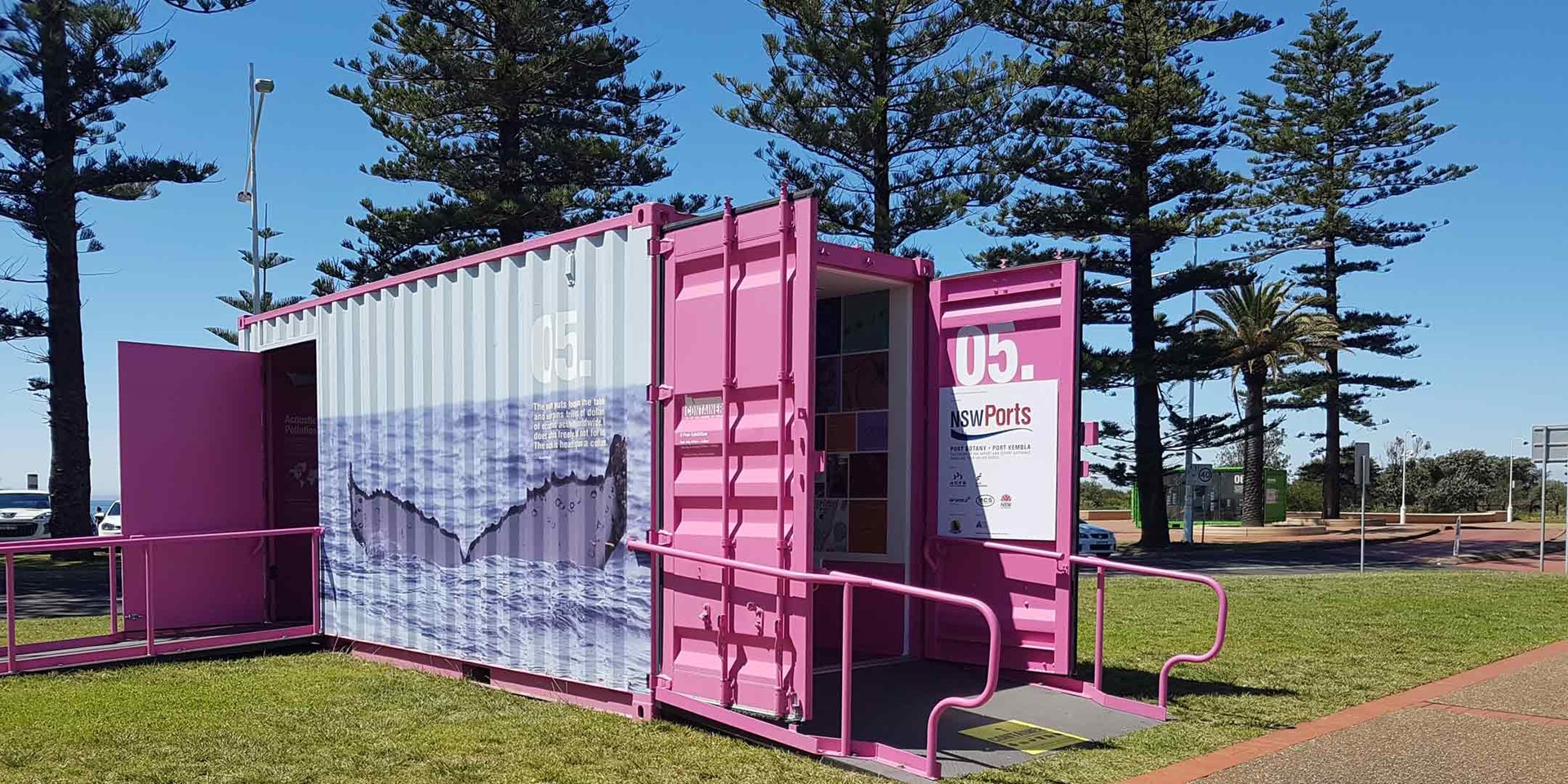Container On Tour, Wollongong NSW