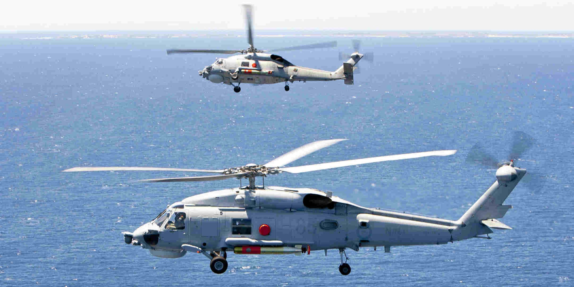 Seahawk helicopter in flight. Image: www.navy.gov.au