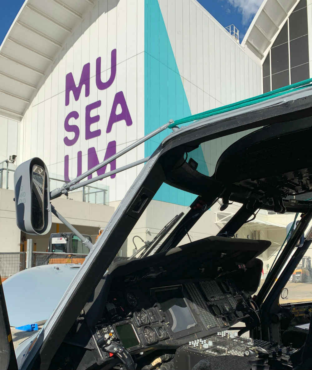 Inside the Seahawk cockpit