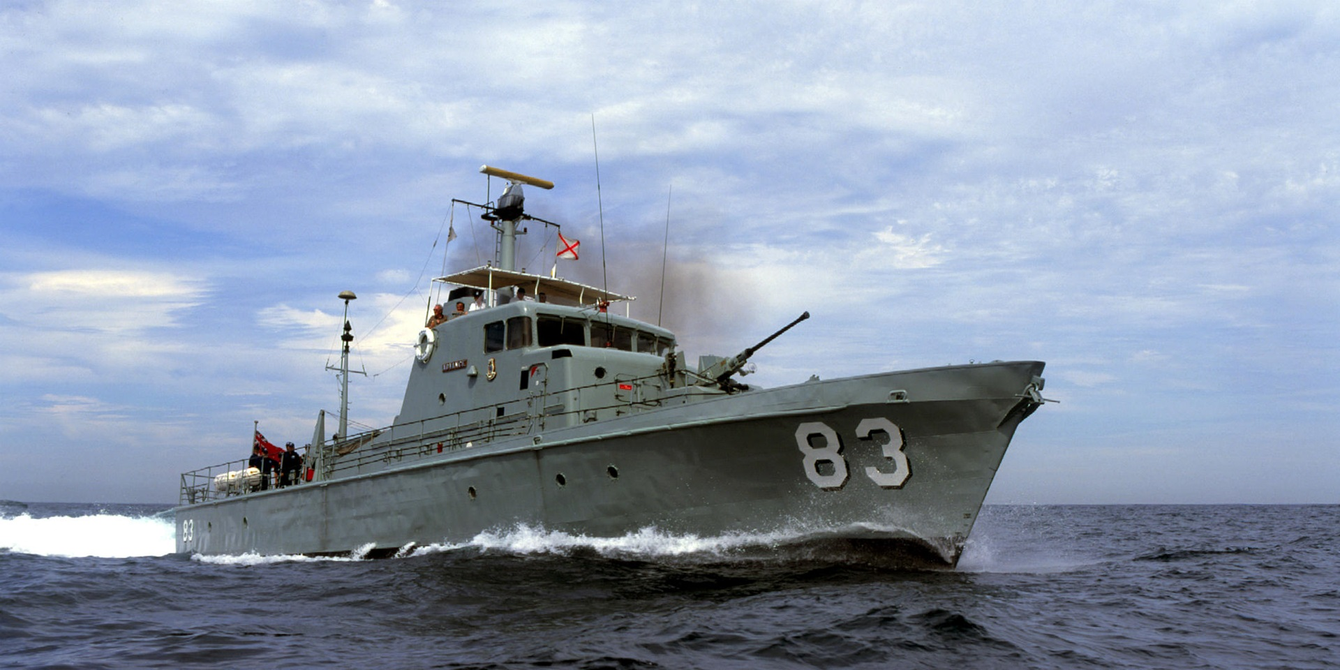 Navy patrol boat HMAS Advance