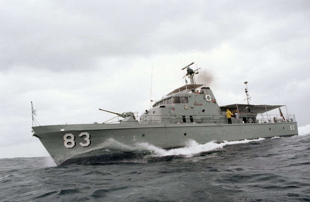 Patrol boat HMAS Advance. Photo: ANMM