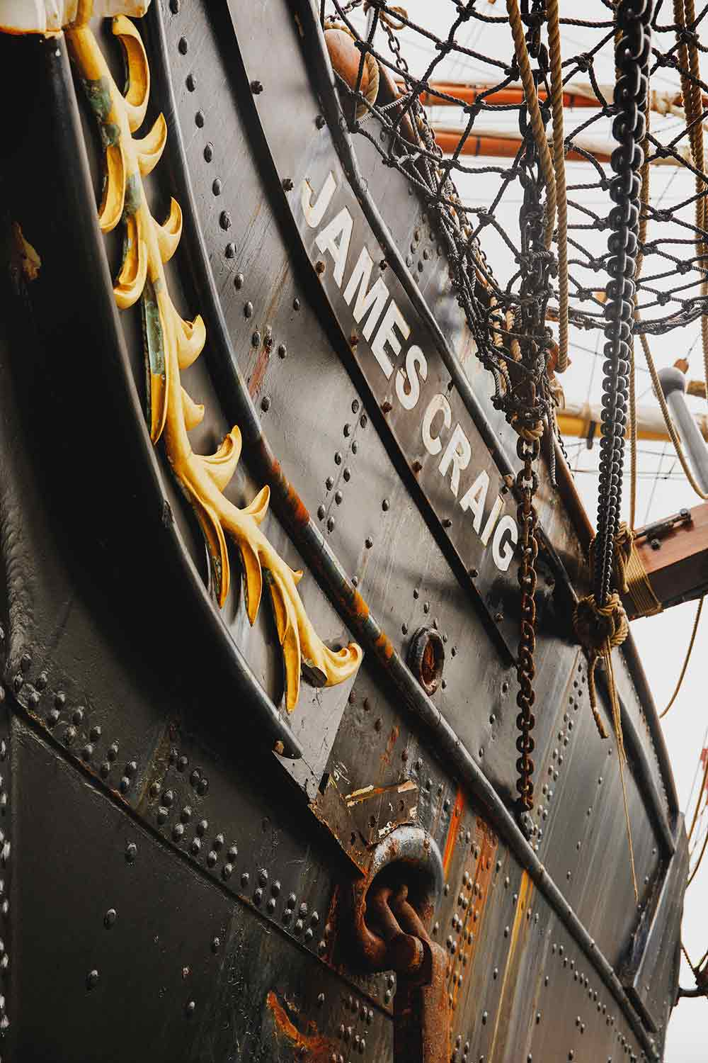 Tall Ship: James Craig 1874. Image: James Horan Photography for Australian National Maritime Museum.