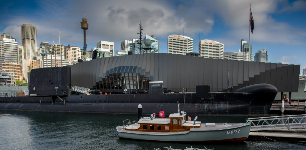 Submarine HMAS Onslow. Photo: ANMM